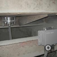 The sensor and the electronic unit moisture meter FIZEPR-SW100.17.8 on concrete-mixing machine  SB-138