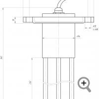 Sensor of FIZEPR-SW100.21 moisture meter